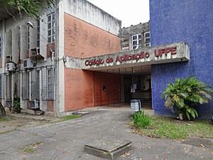 Colégio de Aplicação da UFPE (Foto: Katherine Coutinho/G1)