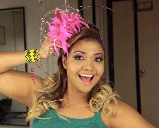 Gaby Amarantos foi uma das juradas do Musa do Carnaval (Foto: Caldeirão do Huck/TV Globo)