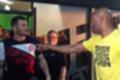 Bisping encontra Anderson Silva e ironiza doping: 'Consegue uma ereção?' (Reprodução)