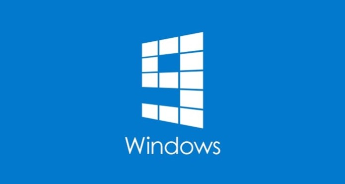 Logo não-oficial do Windows 9 foi divulgado na conta da Microsoft  (Foto: Reprodução/Cnbeta)