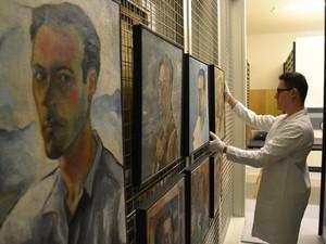 Projeto busca aproximar a comunidade das obras do artista (Foto: Elvira Tomazoni Fortuna/Divulgação)