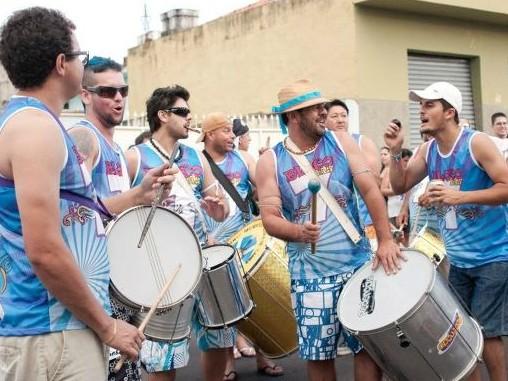 O bloco das Sete é um dos mais tradicionais do carnaval de São Miguel Arcanjo .  (Foto: (Foto: Divulgação / Arquivo Pessoal))