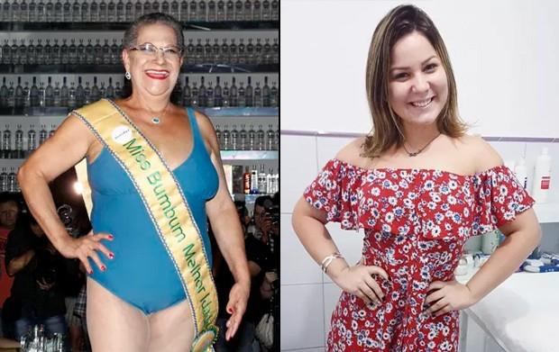 Geralda e Maria Claudia (Foto: Celso Tavares / Ego - Reprodução Instagram)