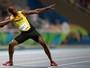 Bolt evita comparação com Michael Phelps e diz: ''Ele é melhor no que faz''