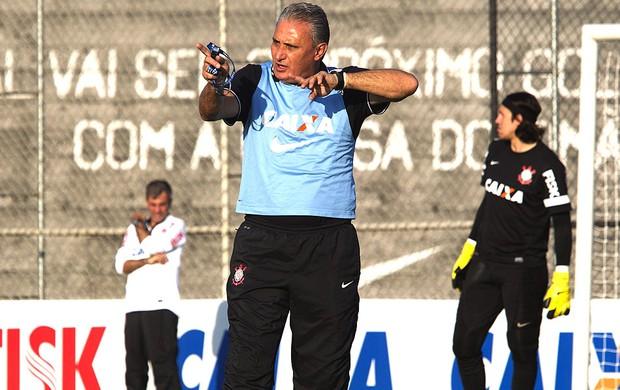 Tite treino Corinthians (Foto: Daniel Augusto Jr. / Ag. Corinthians)