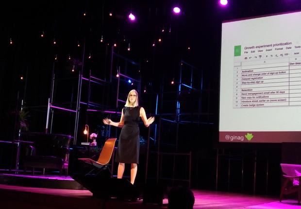 Gina, VP de Marketing and Growth do Duolingo (Foto: Época Negócios)
