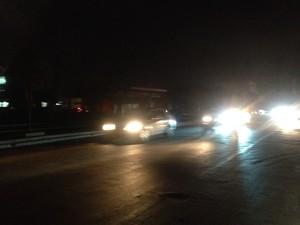 Queda de energia deixou o Amapá no escuro (Foto: Paula Monteiro/G1)