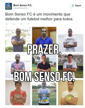 Bom Senso jogadores (Foto: Reprodução: Twitter Bom Senso FC)