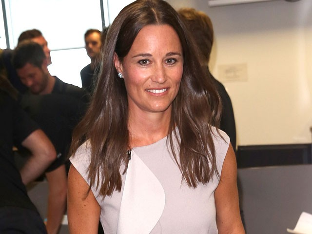 Pippa Middleton em apuros (Foto: Getty Images)