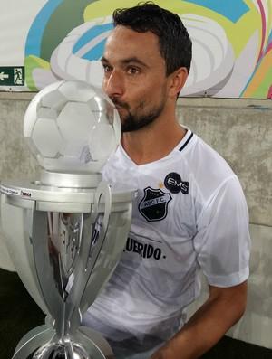 Nando - ABC Arena das Dunas título segundo turno Campeonato Potiguar (Foto: Jocaff Souza/GloboEsporte.com)