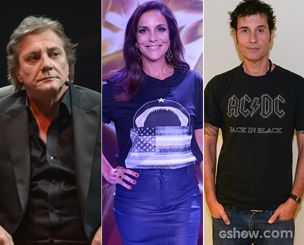 Ivete Sangalo, Fábio Jr. e Dinho são os jurados e padrinhos do SuperStar,  (Foto: SuperStar / TV Globo)