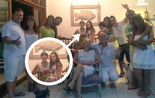 Larissa Manoela e João Guilherme (Foto: Reprodução / Instagram)