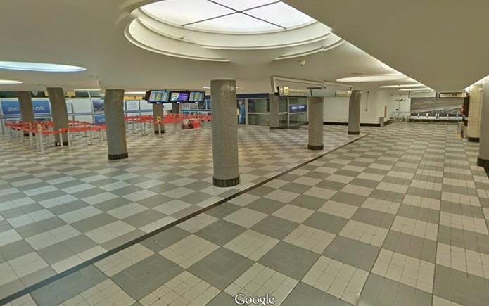 Entrada da área de embarque do aeroporto de Congonhas agora pode ser visualizada no Street View (Reprodução/Sreet View) (Foto: Entrada da área de embarque do aeroporto de Congonhas agora pode ser visualizada no Street View (Reprodução/Sreet View))