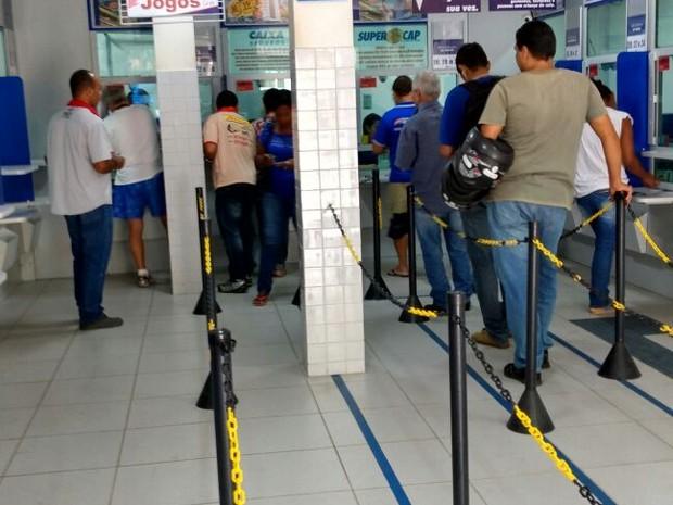 Movimento em loterias aumentou com a greve. (Foto: Santes Romeu/Arquivo Pessoal)