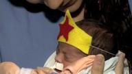 Crianças internadas no HU comemoram carnaval com fantasias de heróis