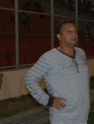Luis Carlos Mendes, técnico do Paraíba de Cajazeiras (Foto: Lucas Barros / Globoesporte.com/pb)