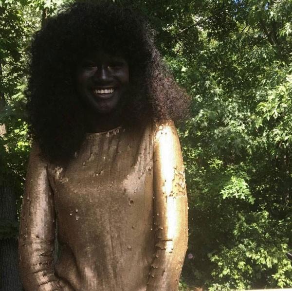 Khoudia Diop é do Senegal (Foto: Reprodução Instagram)