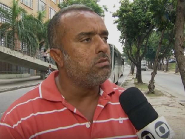 Leonardo Valentim acredita que o bar deve ser responsabilizado pela postura do funcionário (Foto: Reprodução/ TV Globo)