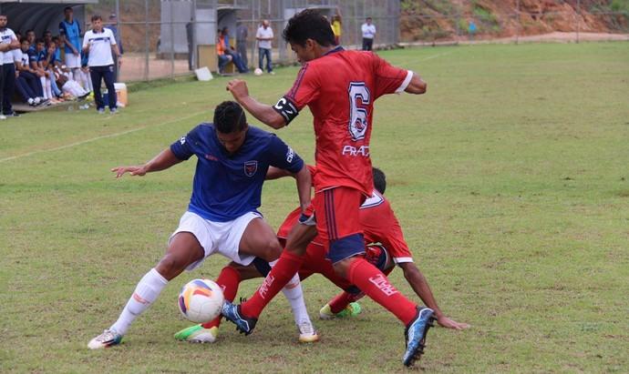 Doze e Vilavelhense empataram por 0 a 0, em Vargem Alta (Foto: Divulgação/Doze FC)