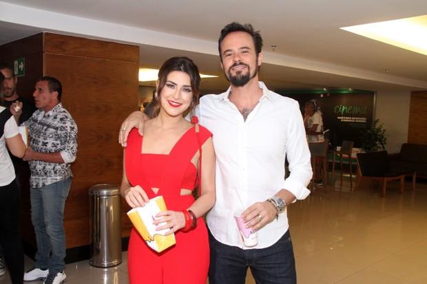 Fernanda Paes Leme e Paulo Vilhena (Foto: Thyago Andrade- Brazilnews)
