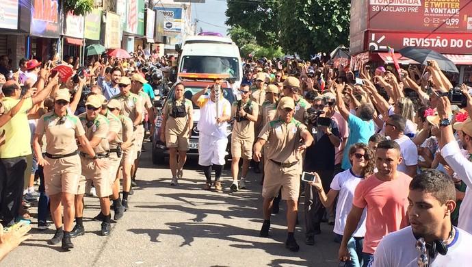Padre Murilo Tour da Tocha Parnamirim (Foto: Fernando Vidotto)