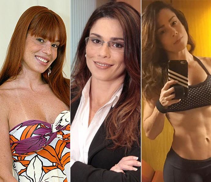 Thalita no BBB8, em 'Guerra dos Sexos' e agora fitness  (Foto: TV Globo )