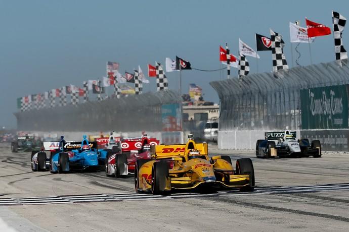 GP de St. Petersburg será palco da abertura da Fórmula Indy 2015, no dia 29 de março (Foto: Getty Images)
