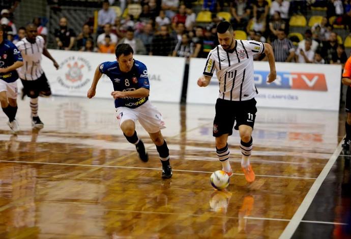 Simi Corinthians Joinville quartas de final liga nacional de futsal (Foto: Divulgação/Agência Corinthians)