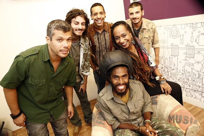 GrooVI trouxe o reggae ao palco do SuperStar (Foto: Inácio Moraes/Gshow)