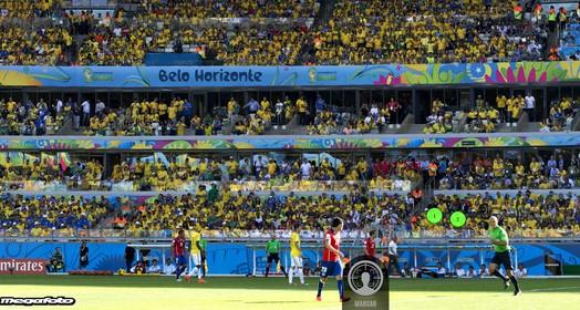 brasil x chile (MegaFoto)