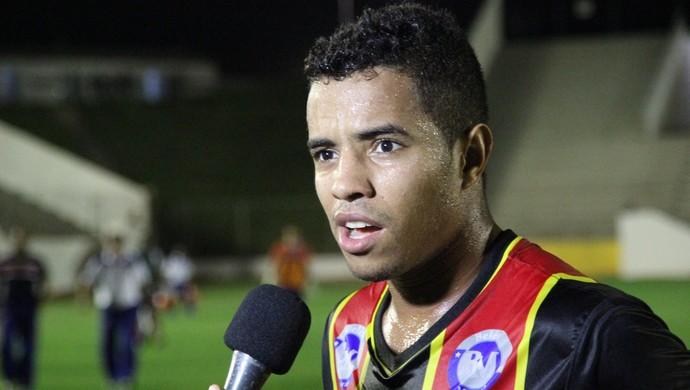Glaubinho - Globo FC (Foto: Fabiano de Oliveira)
