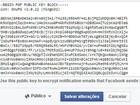 Facebook passa a enviar e-mails com criptografia usada por Snowden
