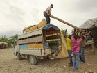 Haiti começa a receber chuvas associadas à tempestade Isaac