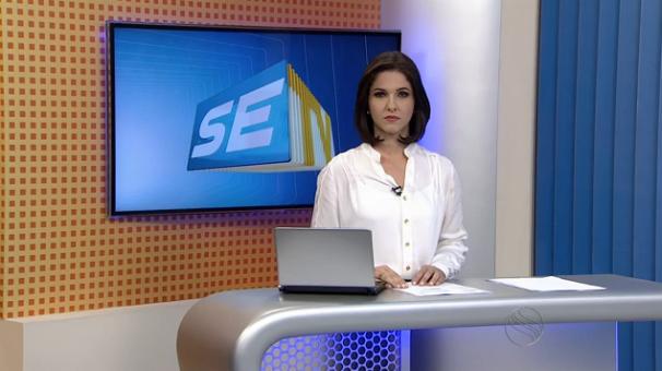 Tamires Franci apresenta o SETV 2ª Edição desta terça-feira, 30 (Foto: Divulgação / TV Sergipe)