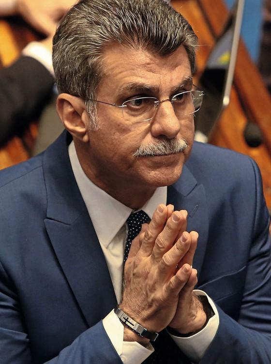 O líder do governo do Senado, Romero Jucá  (Foto:  ANDRÉ DUSEK/ESTADÃO CONTEÚDO)