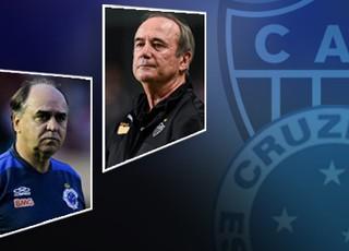 Carrossel - Cruzeiro x Atlético-MG Marcelo Oliveira x Levir Culpi (Foto: Editoria de Arte)