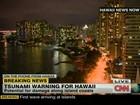 Tsunami formado após tremor no Canadá chega ao Havaí, dizem EUA