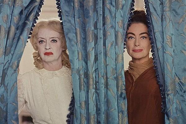 Bette Davis e Joan Crawford em 'O Que Aconteceu com Baby Jane?' (1962) (Foto: Reprodução)
