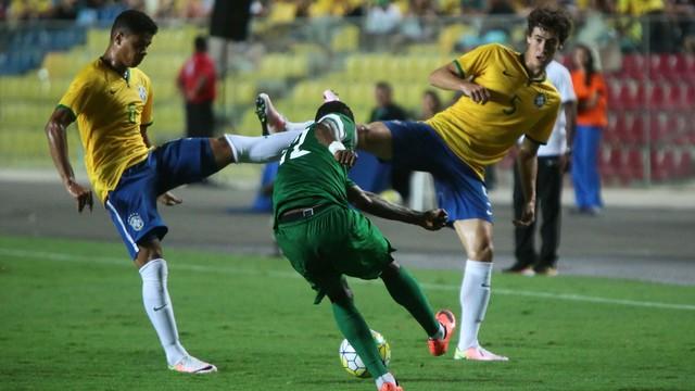 Brasil x Nigéria - Amistosos Seleção Sub-23 2016-2016 - globoesporte.com ba72ca297d3a8
