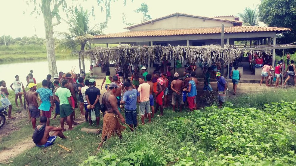 Ataque foi realizado no povoado de Bahias e teria sido praticado por disputas territoriais  (Foto: Divulgação / CIMI)