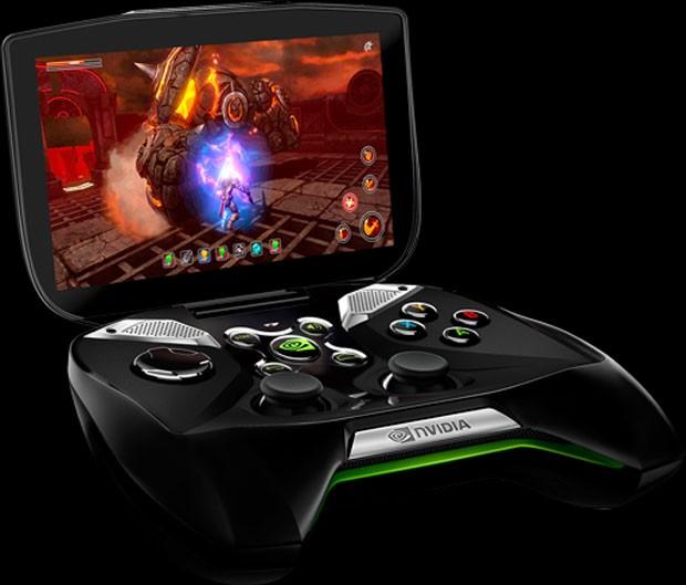 'Project Shield' é videogame portátil da fabricante de placas Nvidia (Foto: Divulgação)