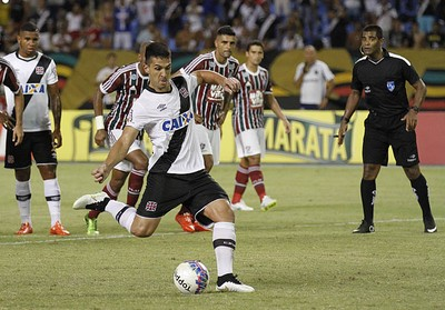 Índio árbitro Carioca (Foto: Marcelo Sadio / vasco.com.br)