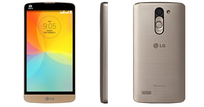LG L Prime vem com bateria de 2.460 mAh, a mesma de concorrente (Foto: Divulgação/LG)