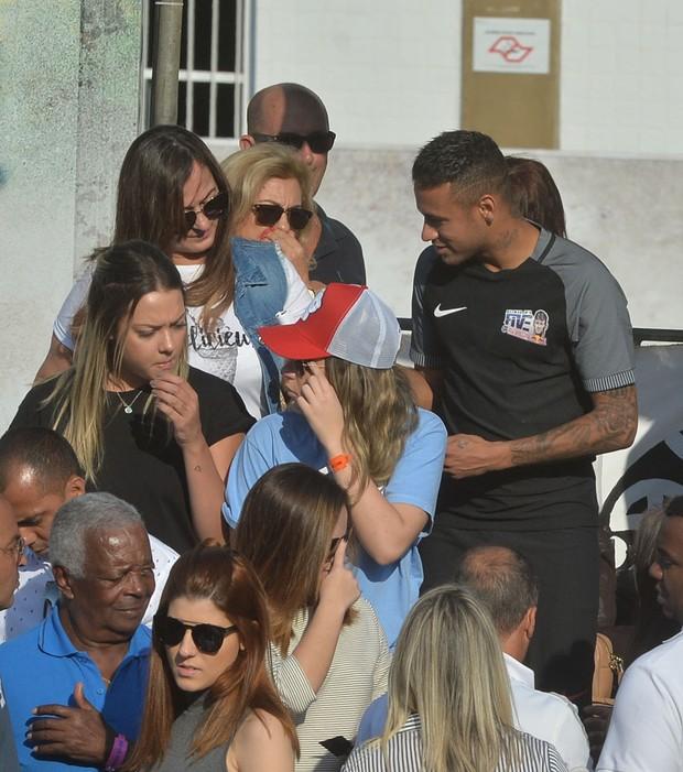 Carol Dantas em campeonato de Neymar (Foto: Delson Silva / Agnews)