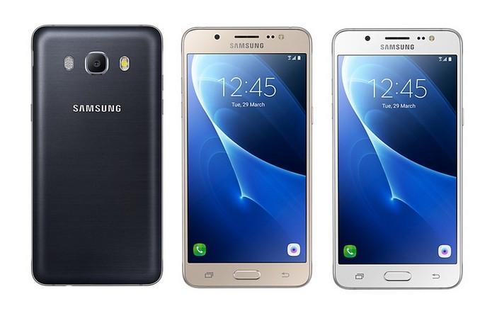 Galaxy J5 Metal está disponível nas cores branca, preta e dourada (Foto: Divulgação/Samsung)