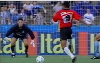Brasil-Pel já eliminou Grêmio de Roger e Ronaldinho no Olímpico; vídeo