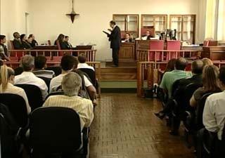 Seis crimes contra a vida são julgados em Araxá (Foto: Reprodução/TV Integração)