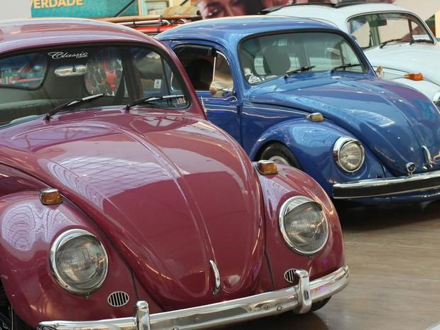 Encontro reúne modelos de Fuscas em Limeira (Foto: Divulgação/Shopping Nações)