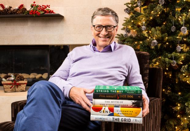 Bill Gates revela os seus livros preferidos de 2016. (Foto: Reprodução/ Gates Notes)