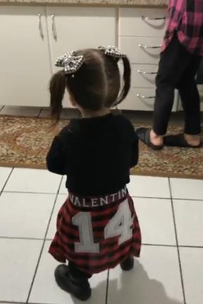Valentina (Foto: Reprodução/Instagram)